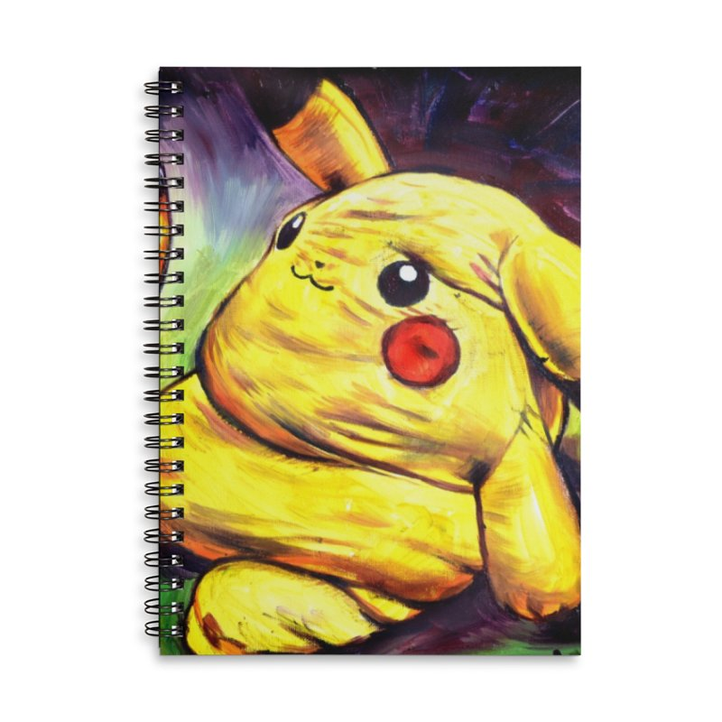WWIII Accessories Lined Spiral Notebook by paintings by Seamus Wray
