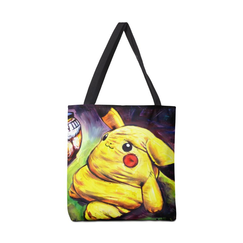 WWIII Accessories Tote Bag Bag by paintings by Seamus Wray