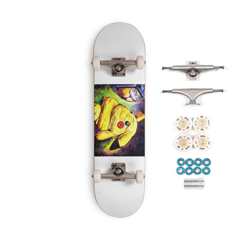 WWIII Accessories Complete - Premium Skateboard by paintings by Seamus Wray