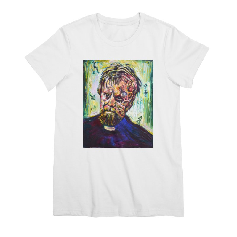 father mara Women's Premium T-Shirt by paintings by Seamus Wray