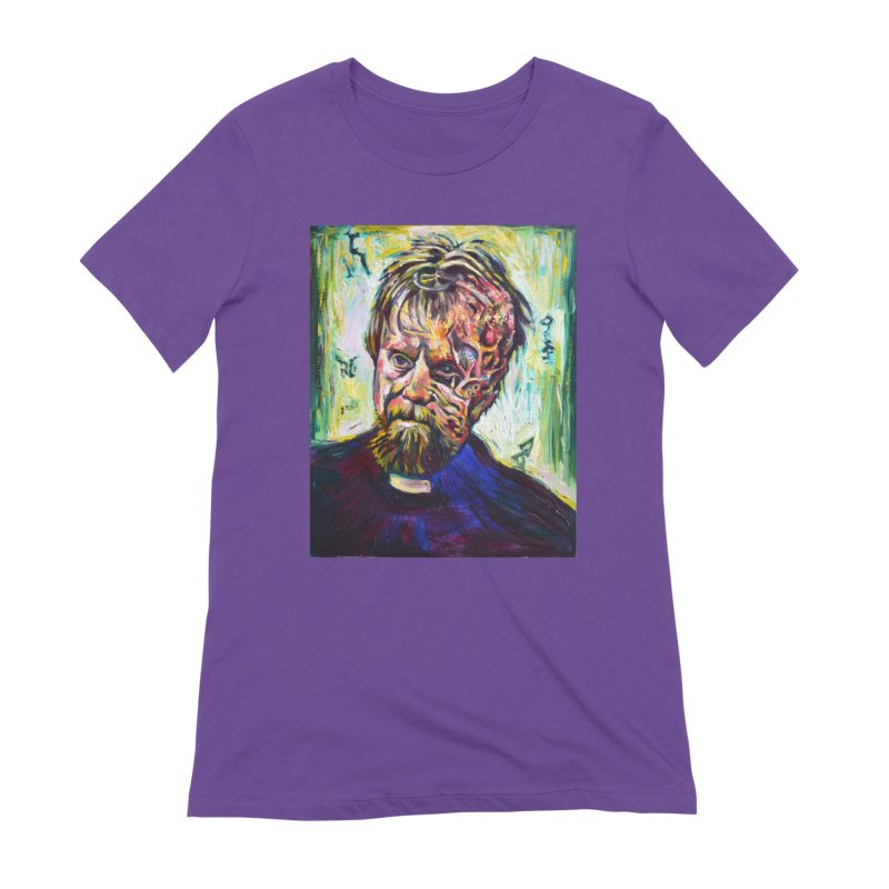 father mara Women's Extra Soft T-Shirt by paintings by Seamus Wray