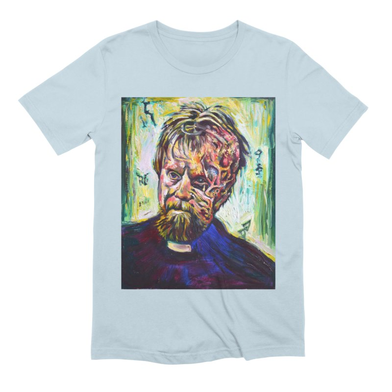 father mara Men's Extra Soft T-Shirt by paintings by Seamus Wray