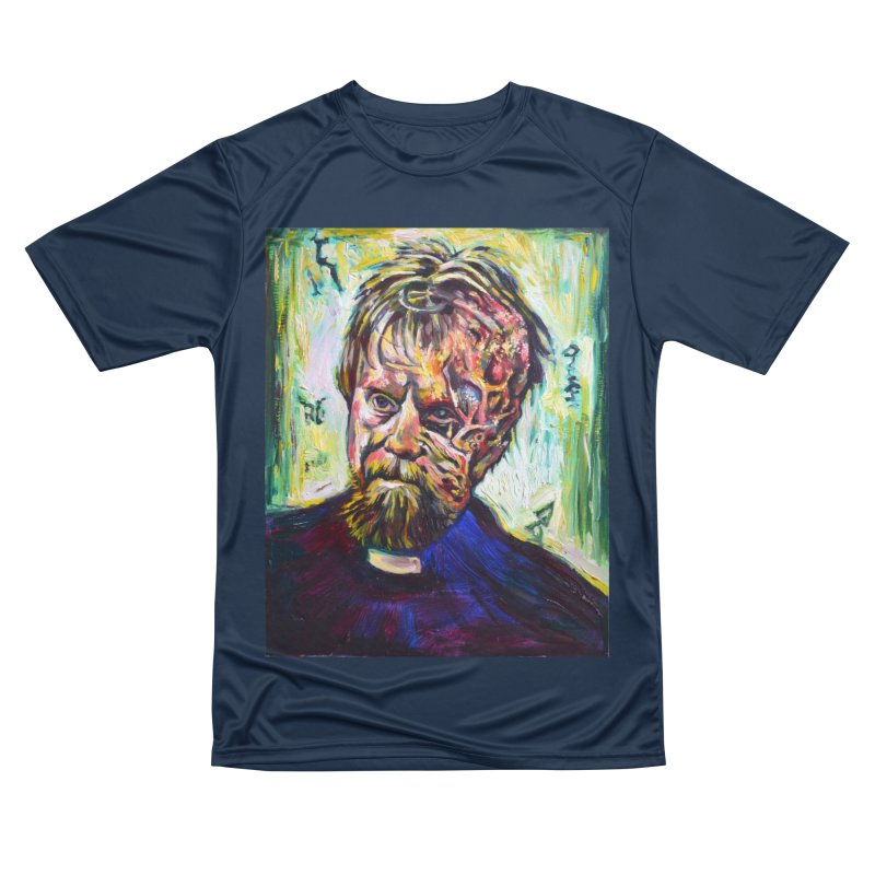 father mara Women's Performance Unisex T-Shirt by paintings by Seamus Wray