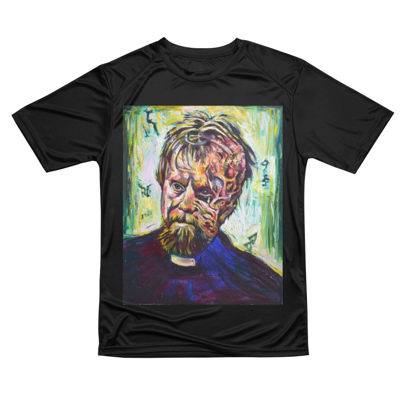 father mara Men's Performance T-Shirt by paintings by Seamus Wray