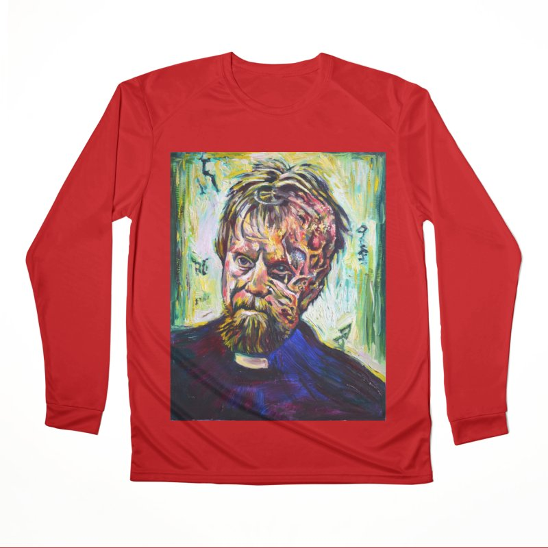 father mara Men's Performance Longsleeve T-Shirt by paintings by Seamus Wray