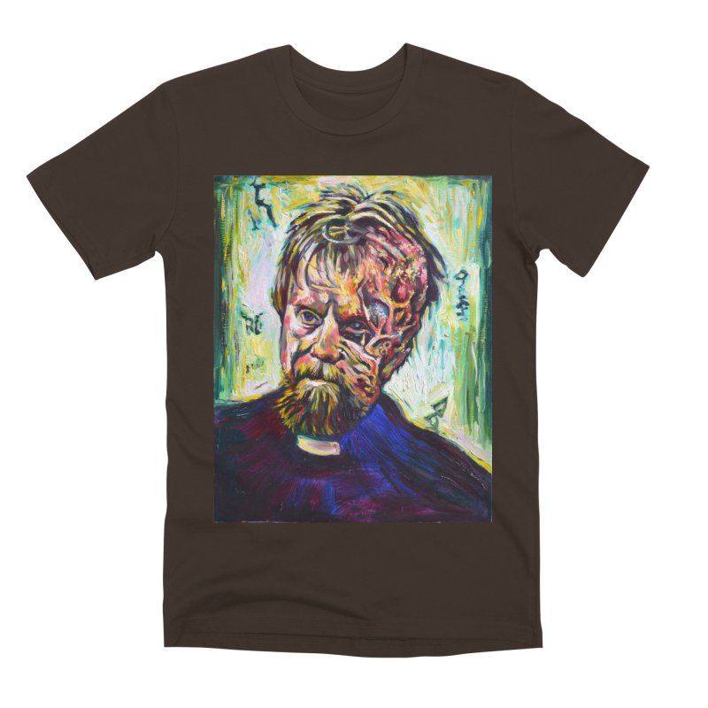 father mara Men's Premium T-Shirt by paintings by Seamus Wray