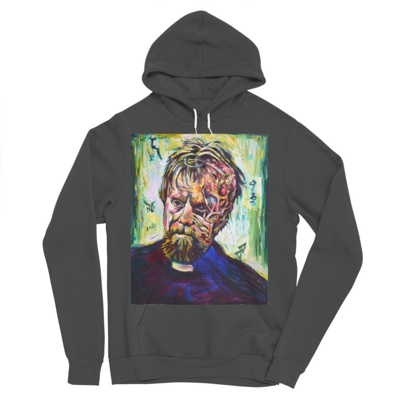father mara Women's Sponge Fleece Pullover Hoody by paintings by Seamus Wray