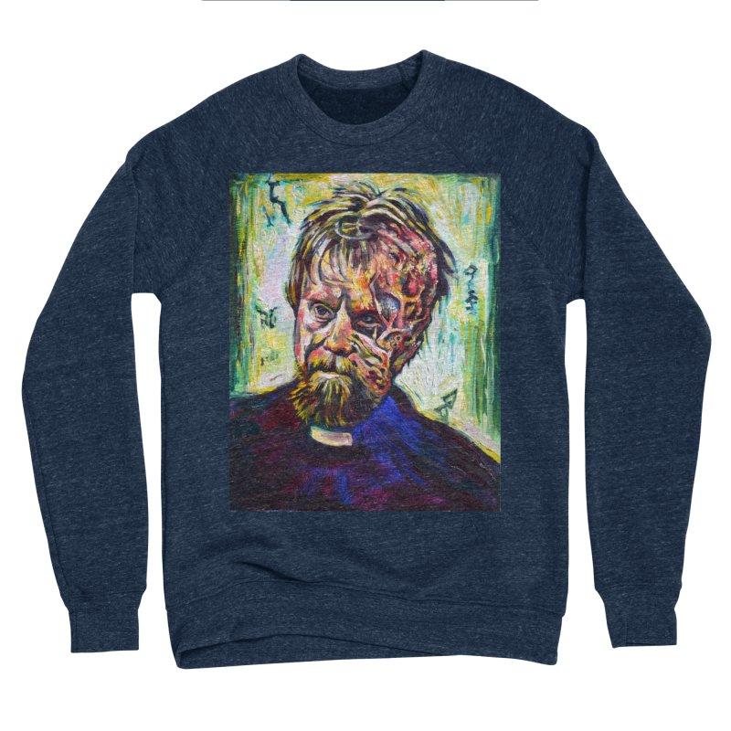 father mara Women's Sponge Fleece Sweatshirt by paintings by Seamus Wray