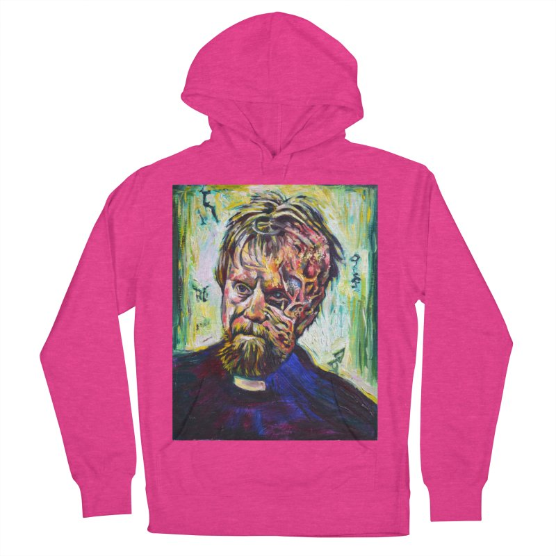 father mara Women's French Terry Pullover Hoody by paintings by Seamus Wray