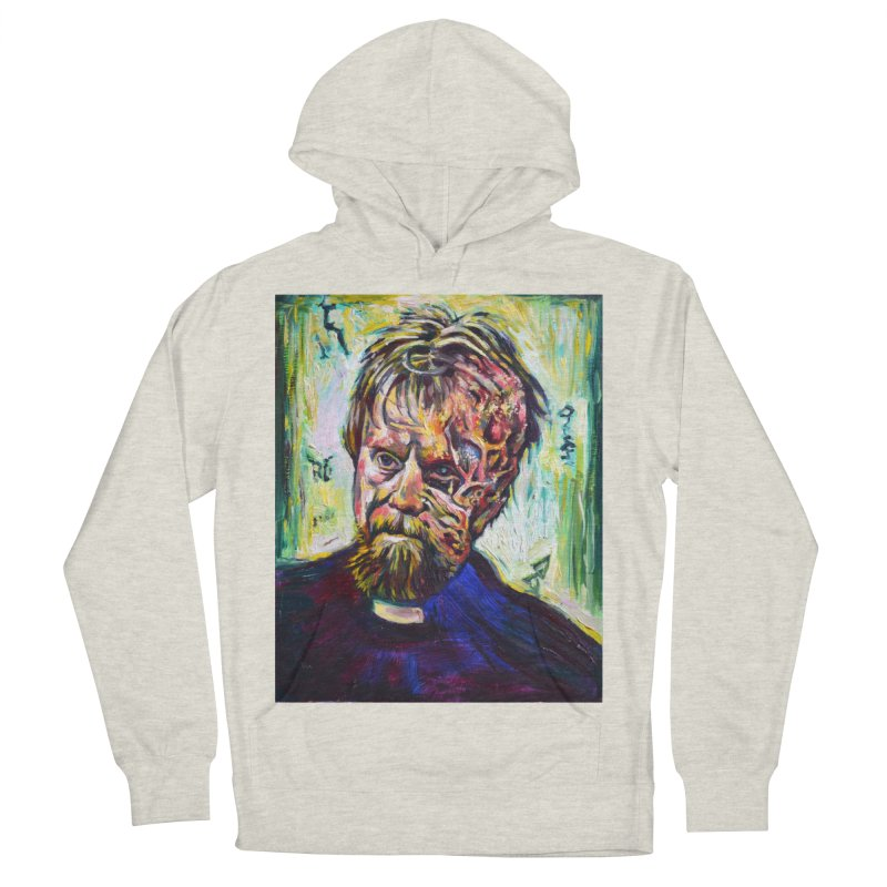 father mara Men's French Terry Pullover Hoody by paintings by Seamus Wray