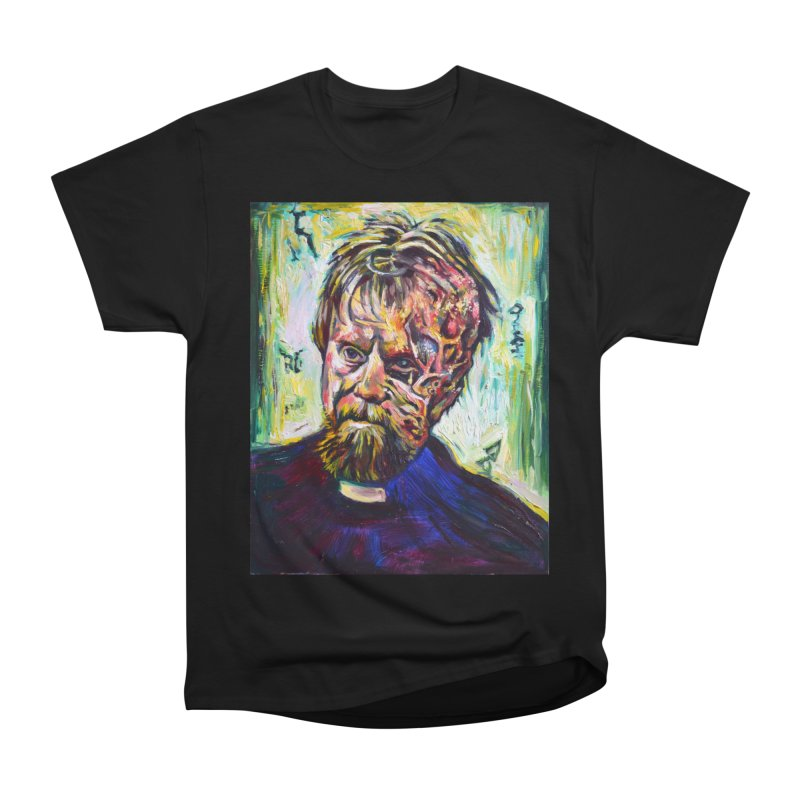 father mara Women's Heavyweight Unisex T-Shirt by paintings by Seamus Wray