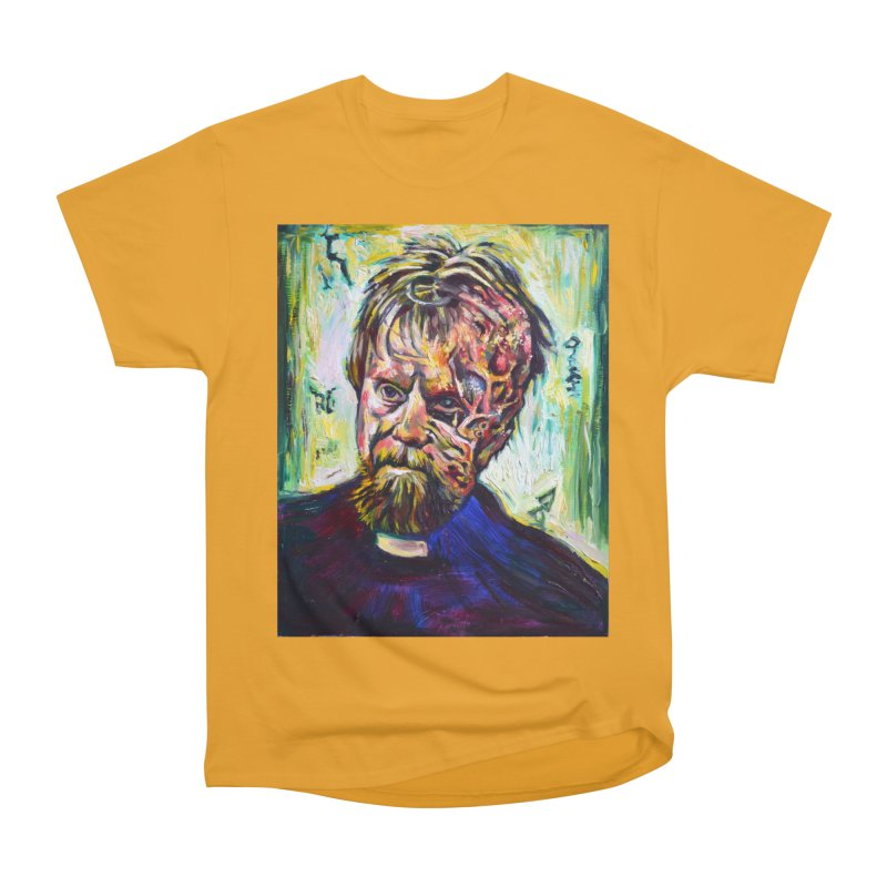 father mara Men's Heavyweight T-Shirt by paintings by Seamus Wray