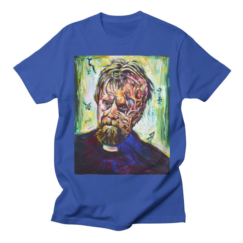 father mara Men's Regular T-Shirt by paintings by Seamus Wray