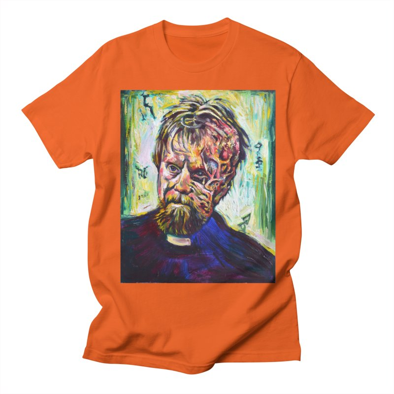 father mara Women's Regular Unisex T-Shirt by paintings by Seamus Wray