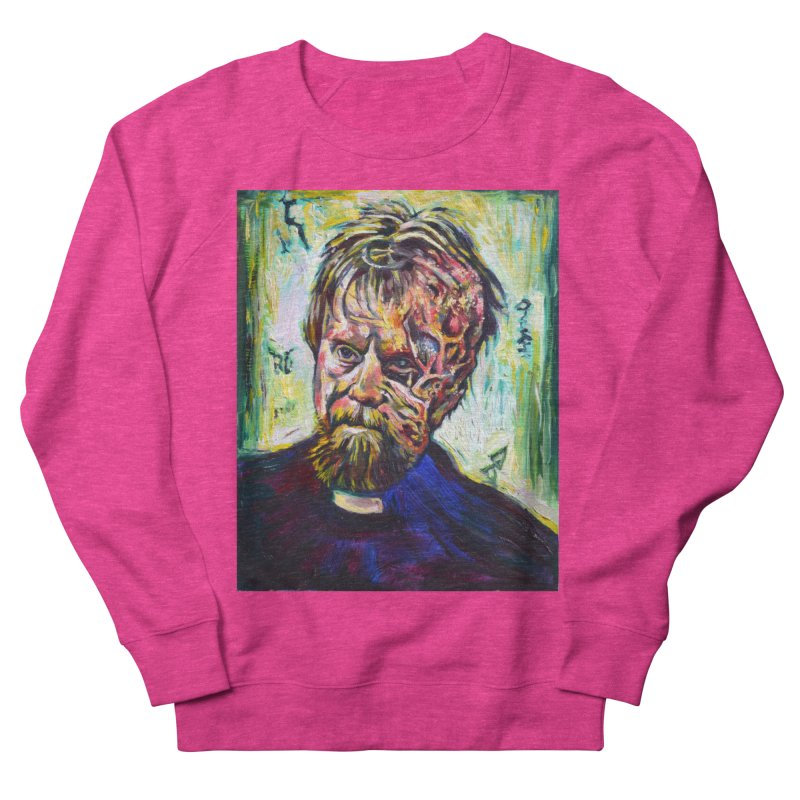father mara Women's French Terry Sweatshirt by paintings by Seamus Wray