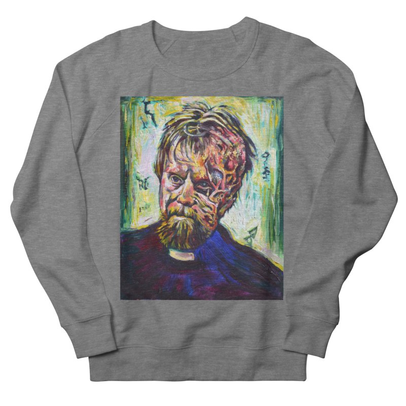father mara Men's French Terry Sweatshirt by paintings by Seamus Wray