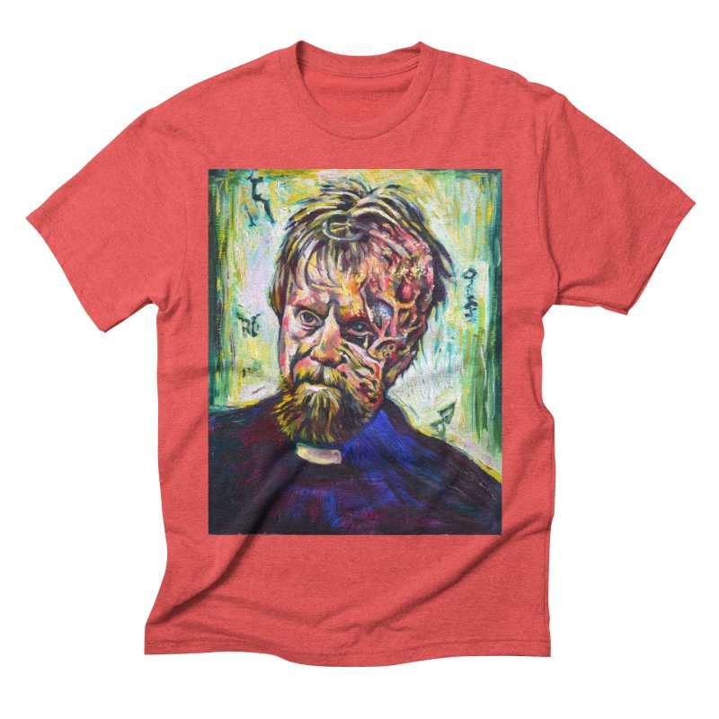 father mara Men's Triblend T-Shirt by paintings by Seamus Wray