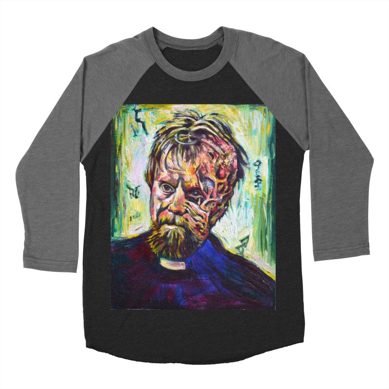 father mara Women's Baseball Triblend Longsleeve T-Shirt by paintings by Seamus Wray