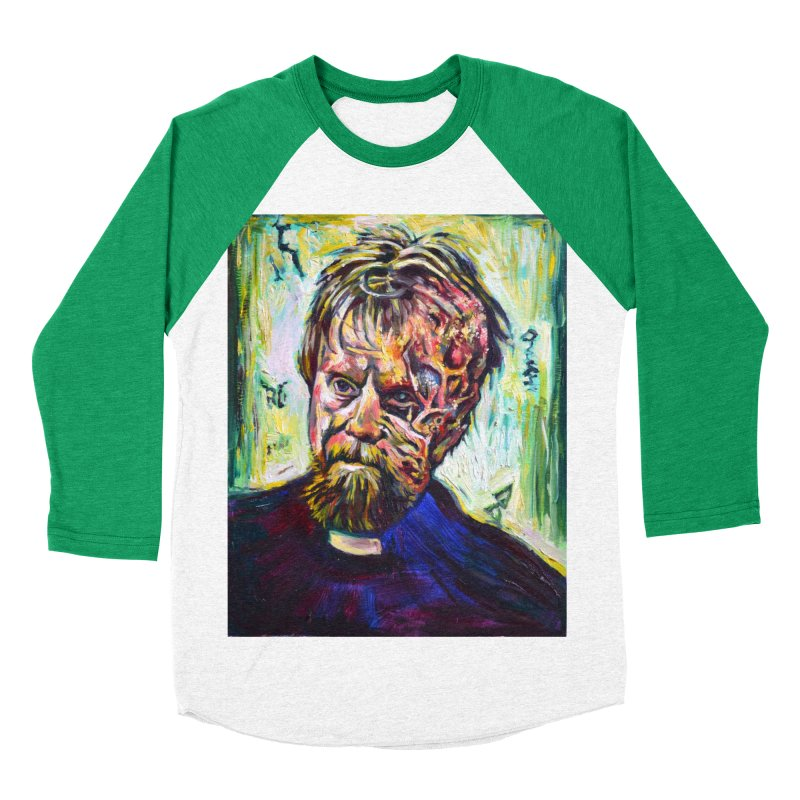 father mara Men's Baseball Triblend Longsleeve T-Shirt by paintings by Seamus Wray