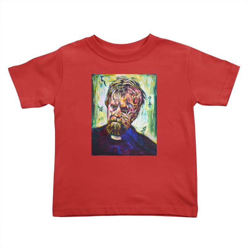 father mara Kids Toddler T-Shirt by paintings by Seamus Wray