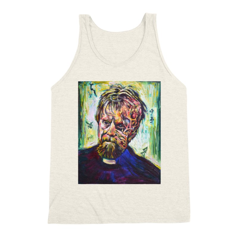 father mara Men's Triblend Tank by paintings by Seamus Wray