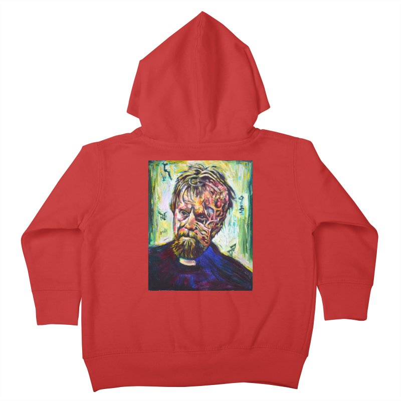 father mara Kids Toddler Zip-Up Hoody by paintings by Seamus Wray