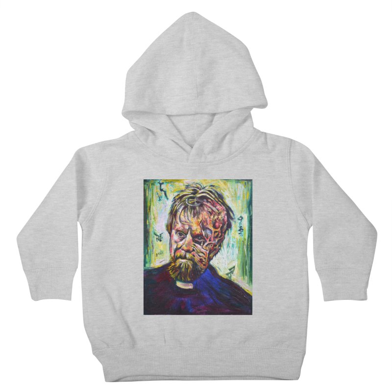 father mara Kids Toddler Pullover Hoody by paintings by Seamus Wray