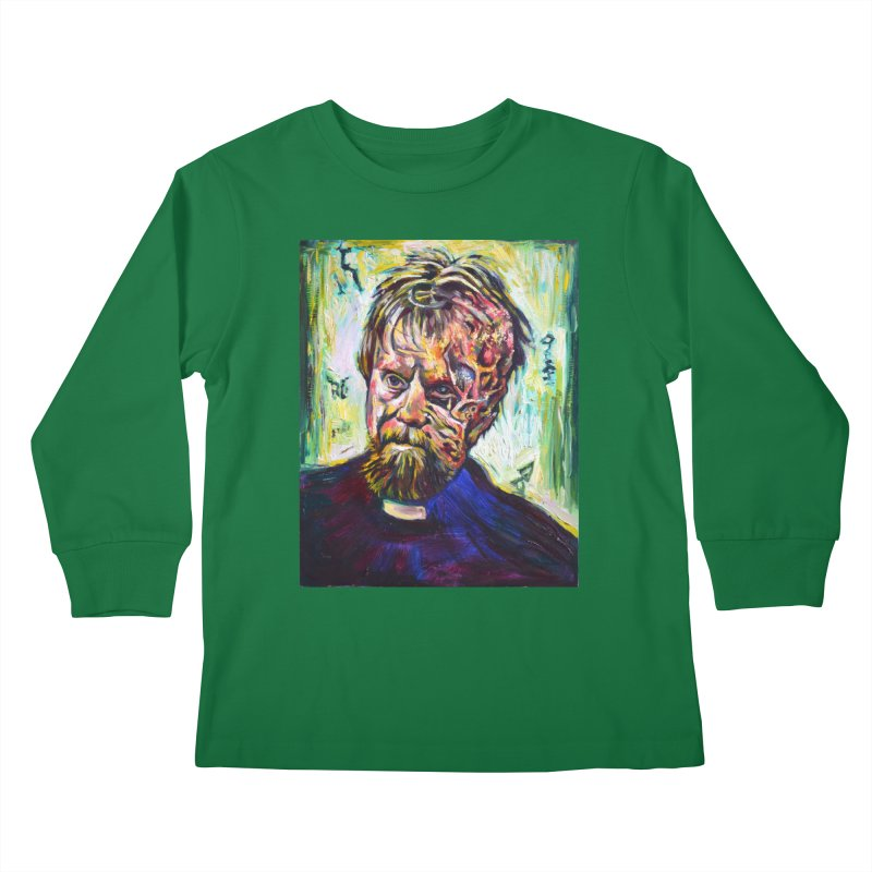 father mara Kids Longsleeve T-Shirt by paintings by Seamus Wray