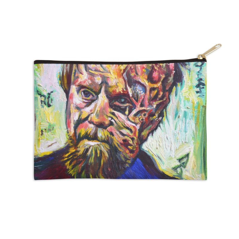 father mara Accessories Zip Pouch by paintings by Seamus Wray