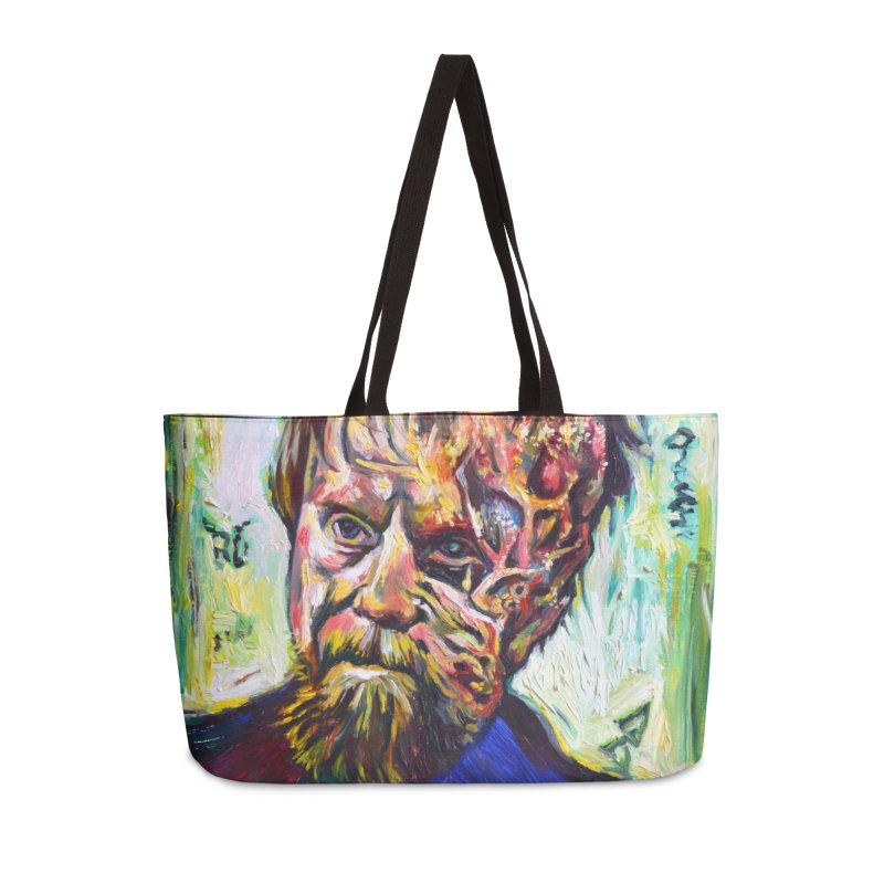 father mara Accessories Weekender Bag Bag by paintings by Seamus Wray