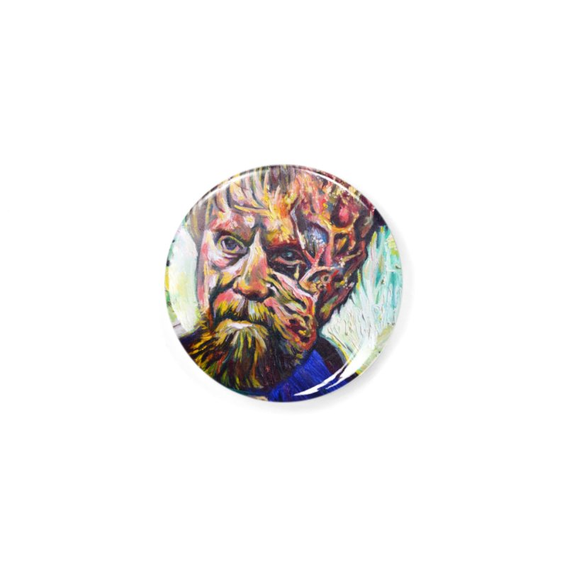 father mara Accessories Button by paintings by Seamus Wray