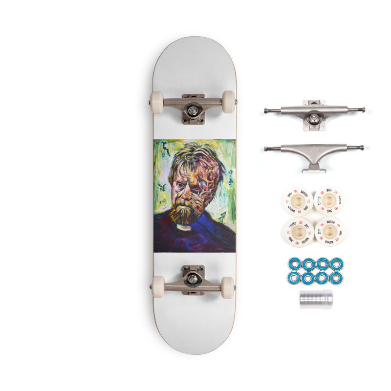 father mara Accessories Complete - Premium Skateboard by paintings by Seamus Wray