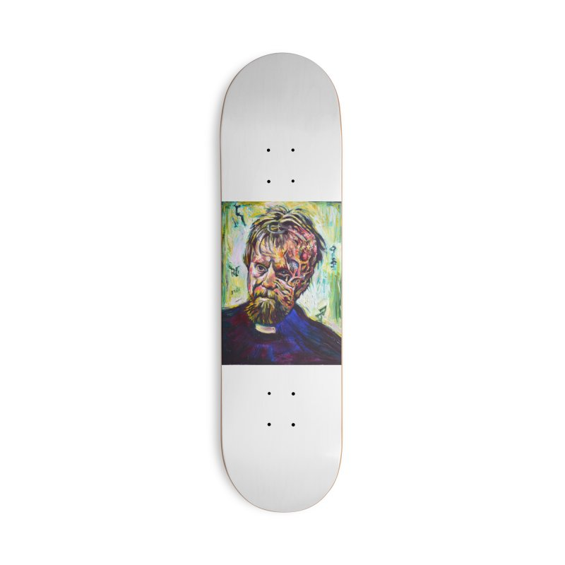 father mara Accessories Deck Only Skateboard by paintings by Seamus Wray