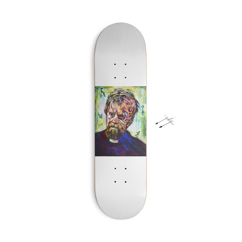 father mara Accessories With Hanging Hardware Skateboard by paintings by Seamus Wray