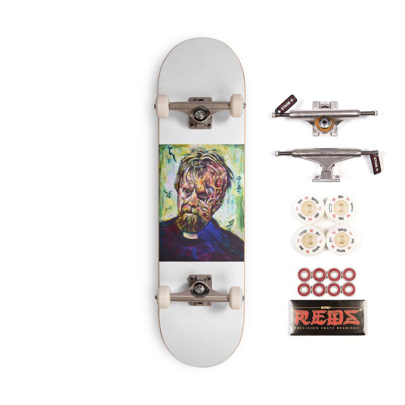 father mara Accessories Complete - Pro Skateboard by paintings by Seamus Wray