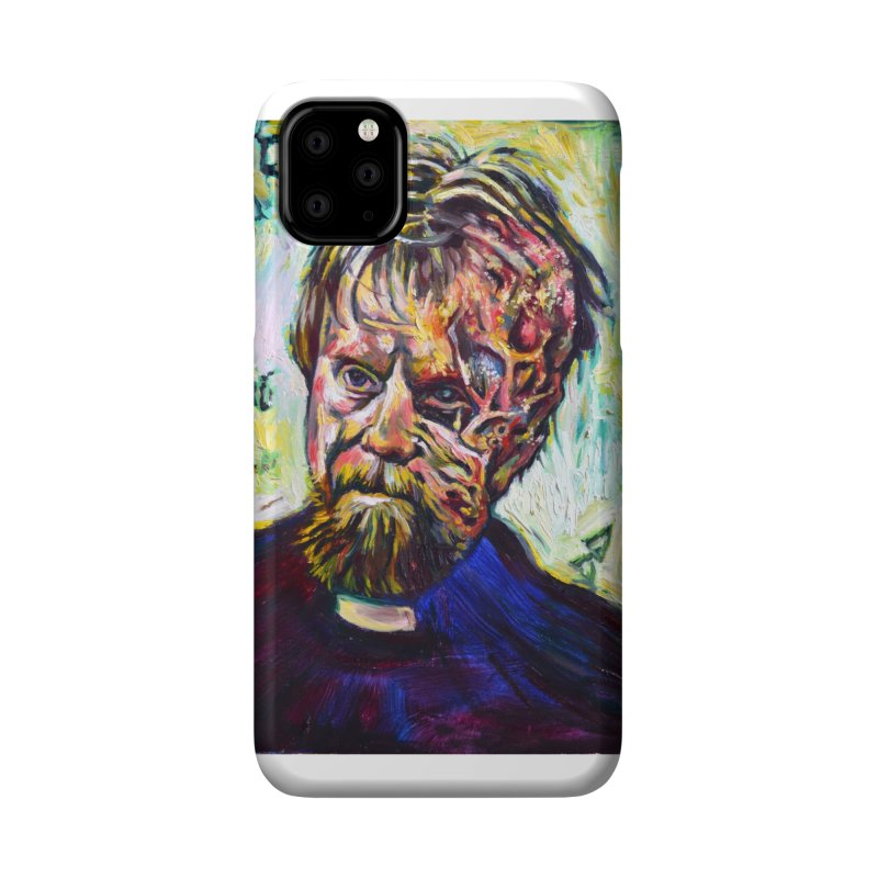 father mara Accessories Phone Case by paintings by Seamus Wray