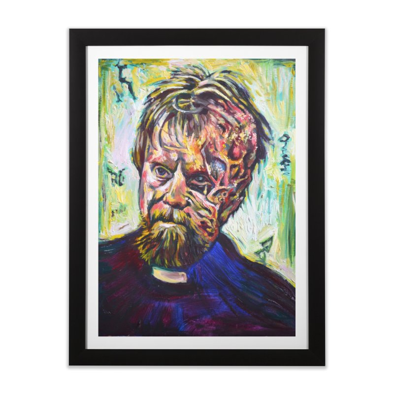 father mara Home Framed Fine Art Print by paintings by Seamus Wray