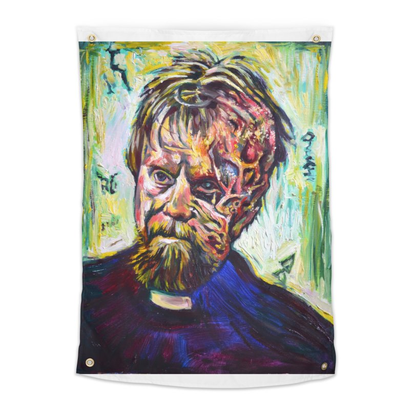 father mara Home Tapestry by paintings by Seamus Wray