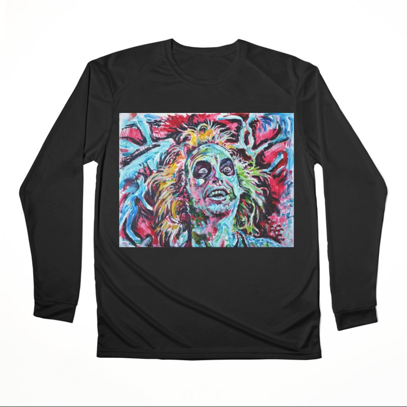beetlejuice Women's Performance Unisex Longsleeve T-Shirt by paintings by Seamus Wray