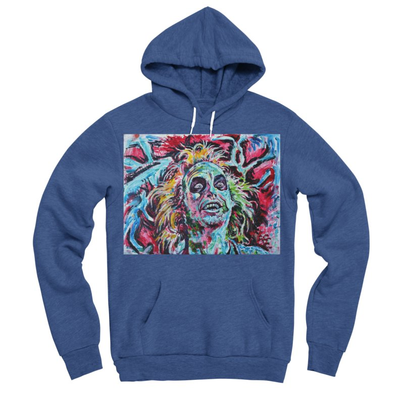 beetlejuice Men's Sponge Fleece Pullover Hoody by paintings by Seamus Wray