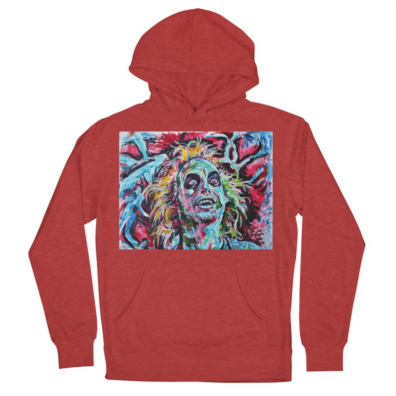 beetlejuice Women's French Terry Pullover Hoody by paintings by Seamus Wray