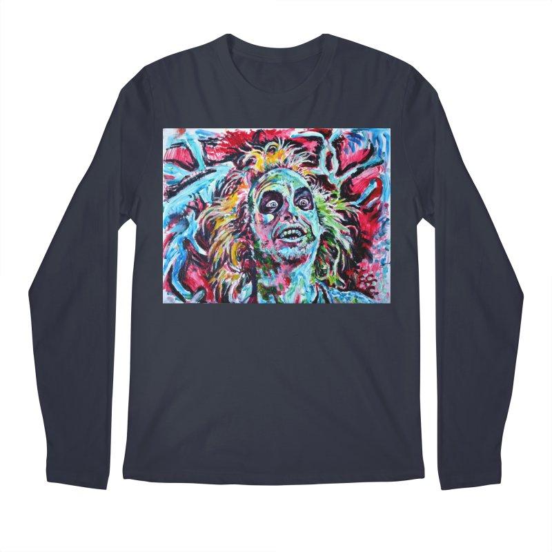 beetlejuice Men's Regular Longsleeve T-Shirt by paintings by Seamus Wray