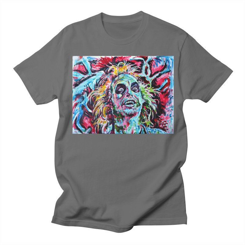 beetlejuice Men's T-Shirt by paintings by Seamus Wray
