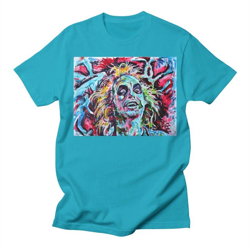 beetlejuice Women's Regular Unisex T-Shirt by paintings by Seamus Wray