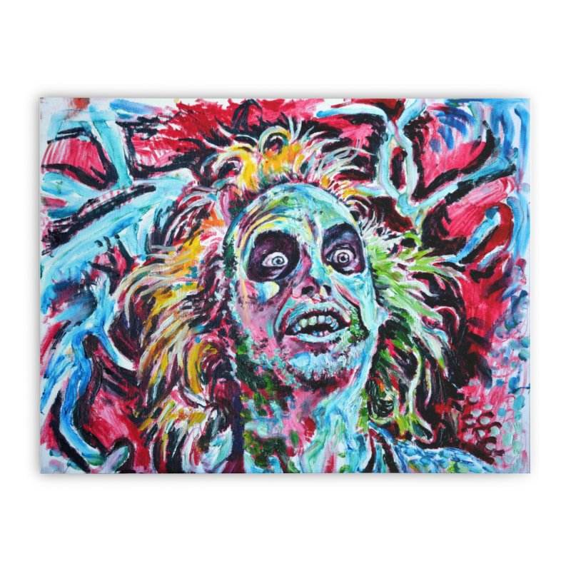 beetlejuice Home Stretched Canvas by paintings by Seamus Wray