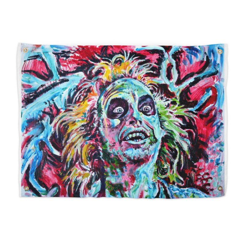 beetlejuice Home Tapestry by paintings by Seamus Wray