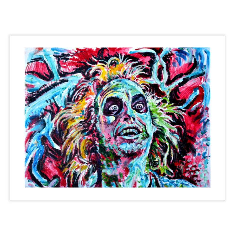 """beetlejuice Home Fine Art Print by Art Prints by Seamus Wray available under """"Home"""""""