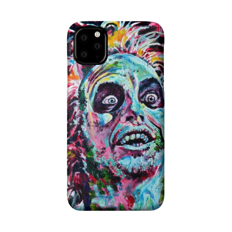 beetlejuice Accessories Phone Case by paintings by Seamus Wray