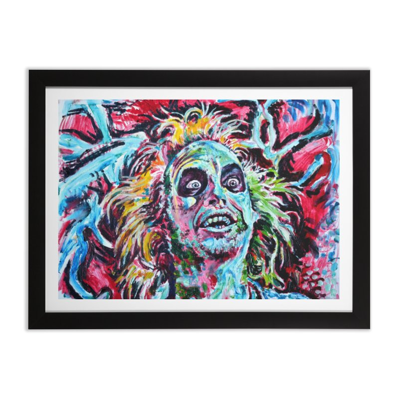 beetlejuice Home Framed Fine Art Print by paintings by Seamus Wray