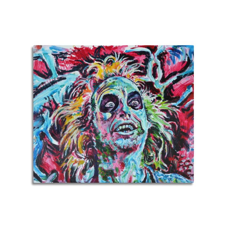 beetlejuice Home Mounted Acrylic Print by paintings by Seamus Wray